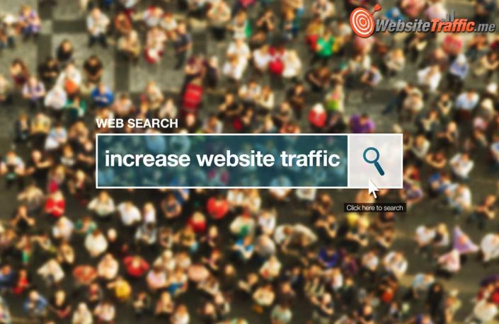 Increase website traffic web search