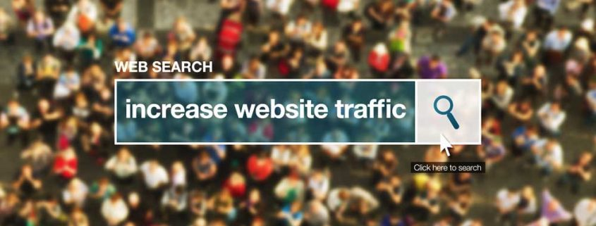 Increase website traffic web search